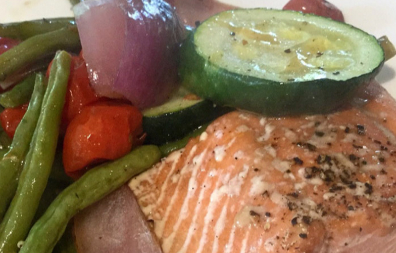 One Pan Salmon