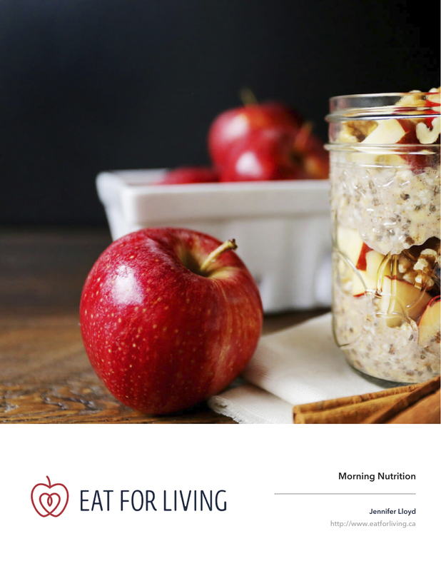 Morning Nutrition Booklet