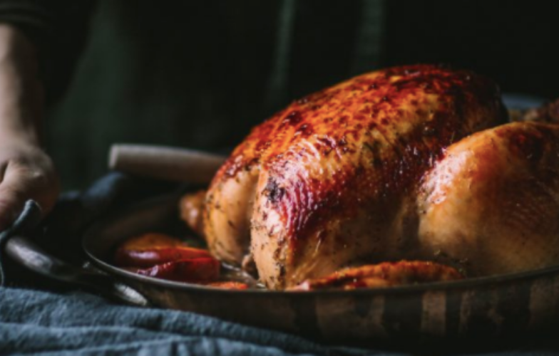 Apricot and Fig Roasted Turkey Breast