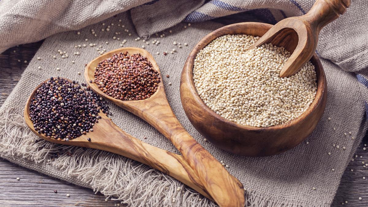 Quinoa! Plant Based Protein